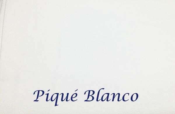 Piqué Blanco