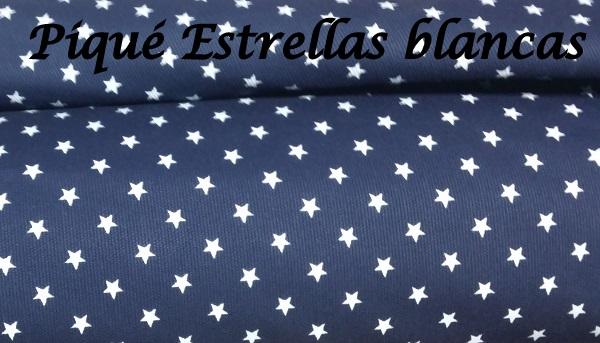 Pique Estrellas Blancas