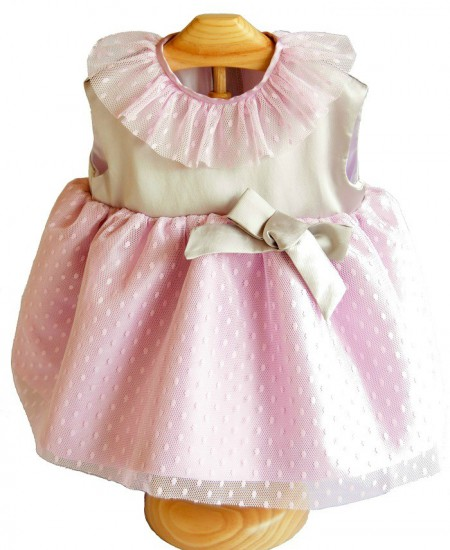 Vestido niña Mikado Beybe Moda infantil alicante (2)