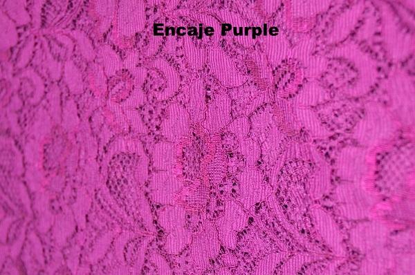 Encaje Purple