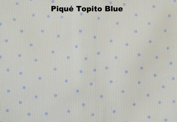 Piqué Topito Blue - Ropa Bebes Online