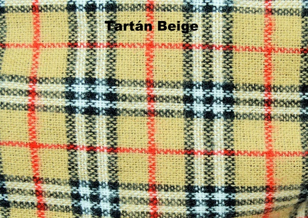 Tartán Beige - Moda Niños BeyBe Alicante