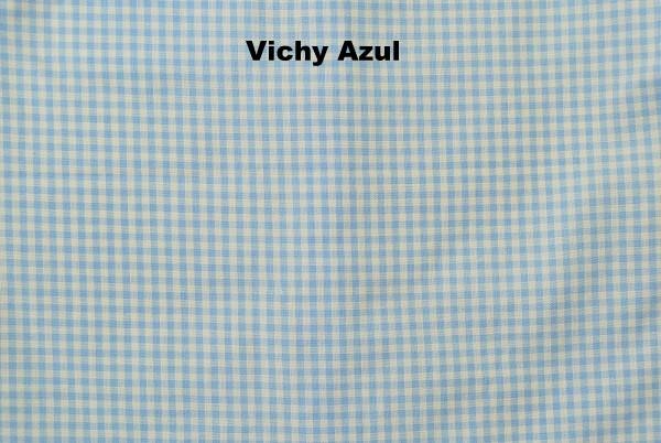 Vichy Azul - Moda bebes online beybe
