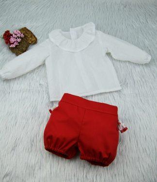 Blusa Angeli - Bombacho Paola - Moda Infantil BeyBe Online