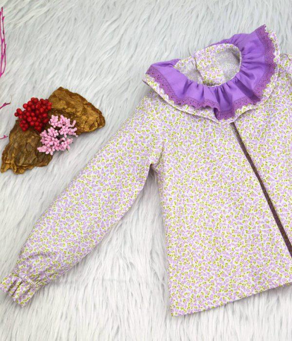 Blusa de piqué Alejandra - Ropa de Marca BeyBe Moda Infantil