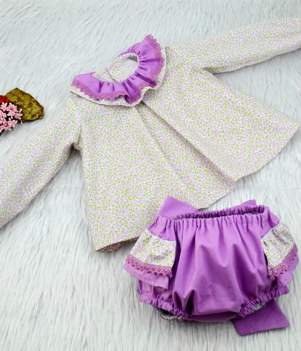 Conjunto Alejandra - BeyBe Moda para Bebes Online