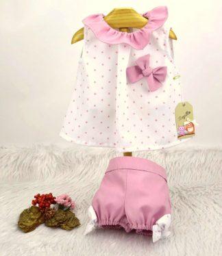 Conjunto Nora - Ropa Bebes de Marca BeyBe Online