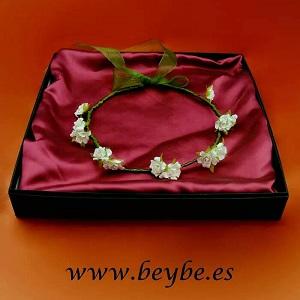 Corona Niñas Nicole I - Coronas de flores para niñas - arras - venta onilne