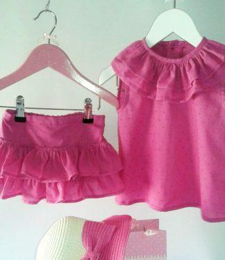 conjunto Niñas Aroa - BeyBe Moda infantil Online