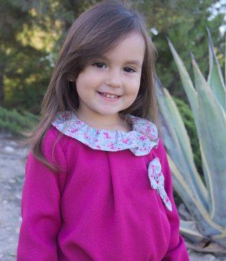 Blusas para niñas de calidad, blusas de color, online comprar ropa para niñas