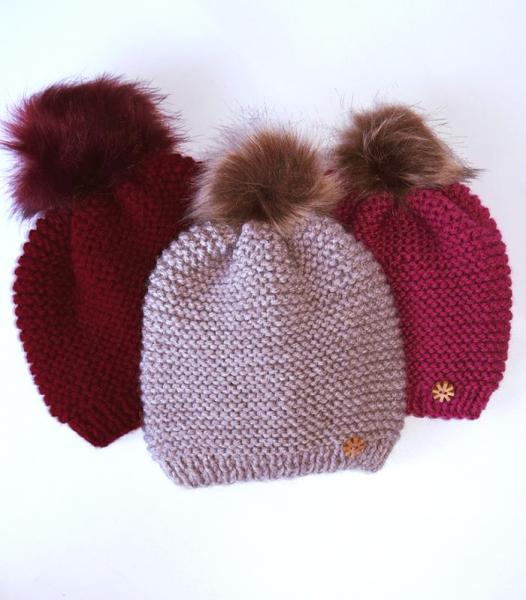 Gorros de lana para bebes - BeyBe Moda Infantil - Online